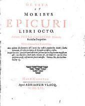 De vita et moribus Epicuri: libri octo