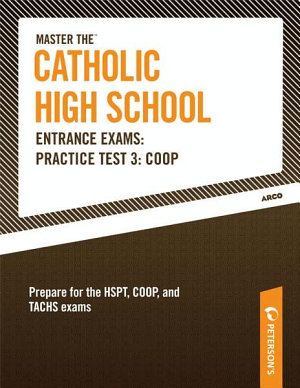Master the Catholic High School Entrance Exams  Practice Test 3  COOP