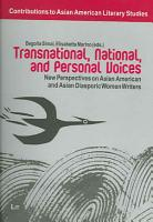 Transnational  National  and Personal Voices PDF