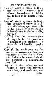 Obras espirituales del venerable padre Luis de la Puente, de la Compañia de Jesus ...: Volumen 7