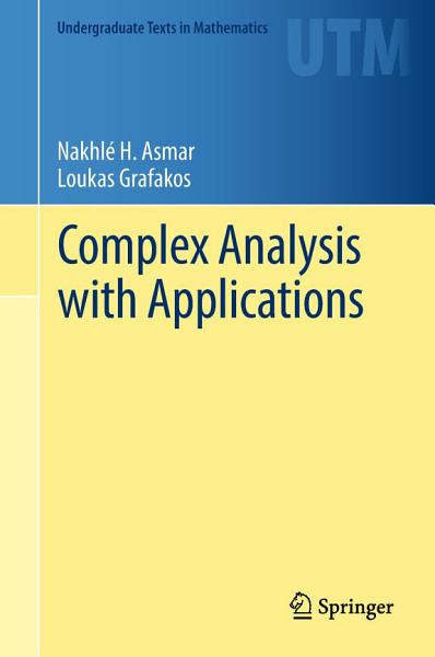 Download Complex Analysis with Applications Book