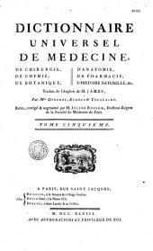 Dictionnaire universel de médecine, de chirurgie, d'anatomie...