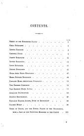 Biographies of the Bonapartes ... With portraits, etc