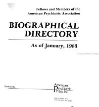 Biographical Directory of Fellows and Members PDF