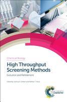 High Throughput Screening Methods PDF