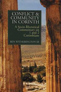 Conflict and Community in Corinth PDF