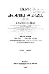 Derecho administrativo español: Volumen 2