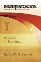 Violence in Scripture PDF