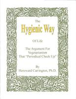The Hygienic Way of Life PDF