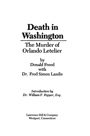 Death in Washington