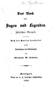 Das Buch der Sagen und Legenden jüdischer Vorzeit