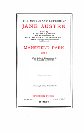 The Novels and Letters of Jane Austen: Volume 5