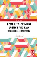 Disability  Criminal Justice and Law PDF