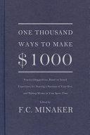 One Thousand Ways to Make  1000