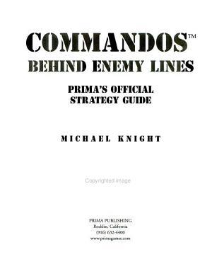 Commandos, Behind Enemy Lines