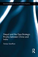 Nepal and the Geo Strategic Rivalry between China and India PDF