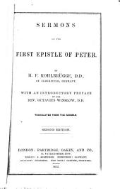 Sermons on the First Epistle of Peter