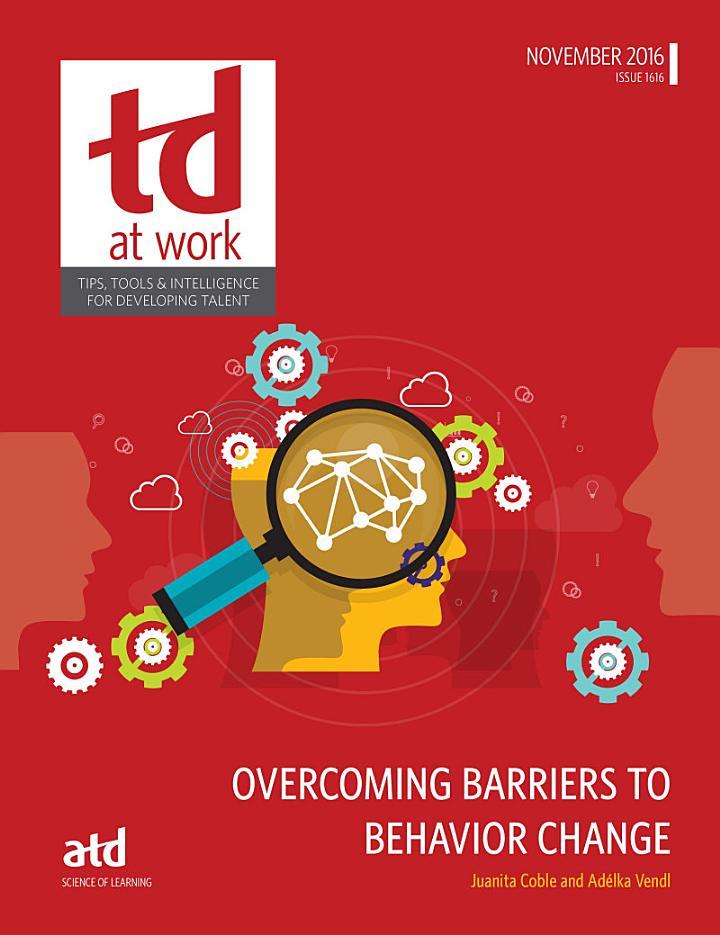 Overcoming Barriers to Behavior Change