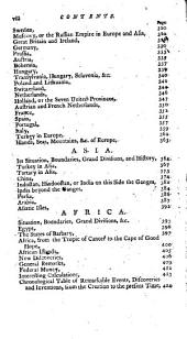 Geography Made Easy: Being an Abridgement of the American Universal Geography : Containing, Astronomical Geography, Discovery and General Description of America ... : to which is Added, an Improved Chronological Table of Remarkable Events ... : Calculated Particularly for the Use and Improvements of Schools ...