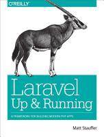 Laravel  Up and Running PDF