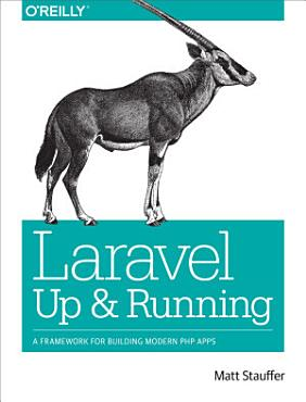 Laravel  Up and Running PDF