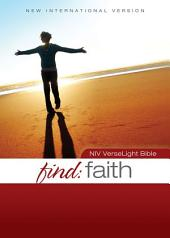 NIV, Find Faith: VerseLight Bible, eBook: Quickly Find Verses about God's Constant Faithfulness