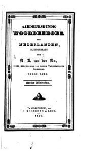Aardrijkskundig woordenboek der Nederlanden: Volume 3