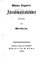 Abendmahlskinder übersetzt von Wollheim