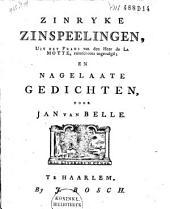 Zinryke zinspeelingen: and other works