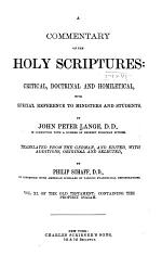 A Commentary on the Holy Scriptures: Isaiah