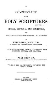 A Commentary on the Holy Scriptures  Isaiah PDF