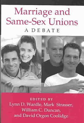 Marriage and Same sex Unions PDF