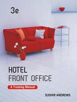 Hotel Front Office PDF