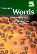 A Way with Words 1 Resource Packs