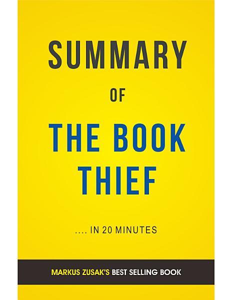 Download The Book Thief  by Markus Zusak   Summary   Analysis Book