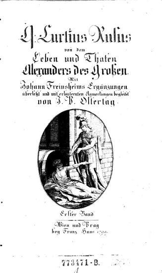 Q  Curtius Rufus von dem Leben und Thaten Alexanders des Gro  en     PDF