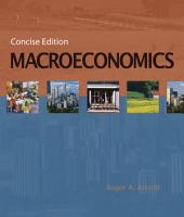 Macroeconomics  Concise Edition PDF
