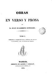 Obras en verso y prosa