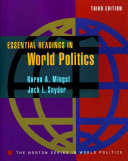 Essential Readings in World Politics Book