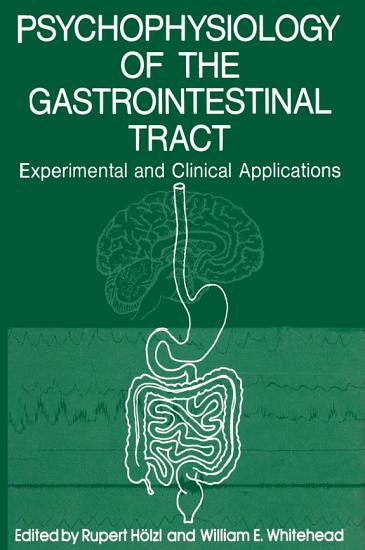 Psychophysiology of the Gastrointestinal Tract PDF