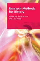 Research Methods for History PDF
