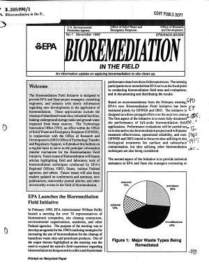 Bioremediation in the Field