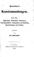 Goethe s kunstsammlungen     PDF
