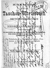 Kramers' Neues Taschenwörterbuch Deutsch-Niederländisch und Niederländisch-Deutsch: auch enthaltend ein Verzeichniss der geographischen Namen, der Manns- und Frauennamen, deren Schreibart von der Niederländischen abweicht, und der starken Zeitwörter