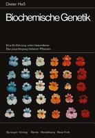 Biochemische Genetik PDF