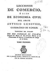 Lecciones de comercio, ó bien de economía civil