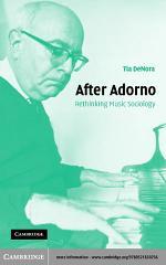 After Adorno