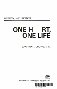 One Heart  One Life PDF