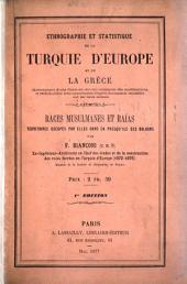 Ethnographie et statistique de la Turquie d'Europe et de la Grèce