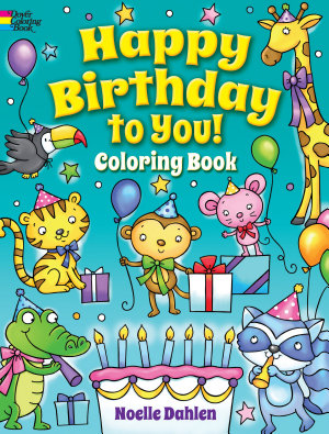 Happy Birthday to You  Coloring Book